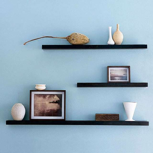 Wall-hung Decorative Book Shelves  3