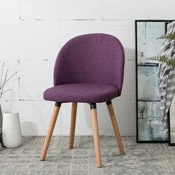 Nordic meble z litego drewna restauracja odpowiednie krzesła nowoczesne tkaniny codzienne Situ z tyłu minimalistycznych krzeseł konferencyjnych      -