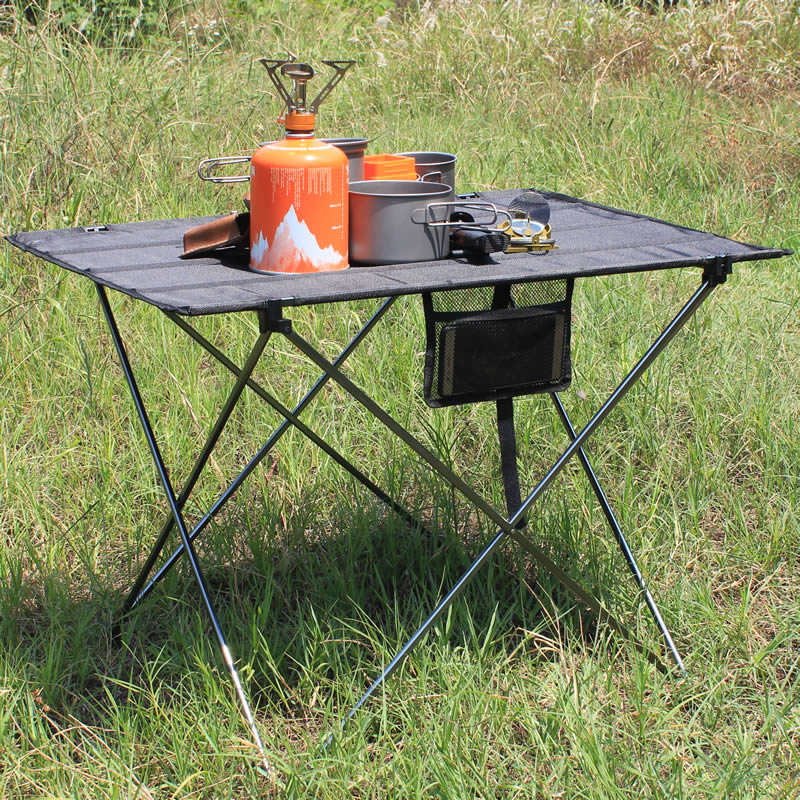 Portable Foldable Table Camping Outdoor Furiture Computer Bed Tables Picnic 6061 Aluminium Alloy Ultra Light Folding Desk