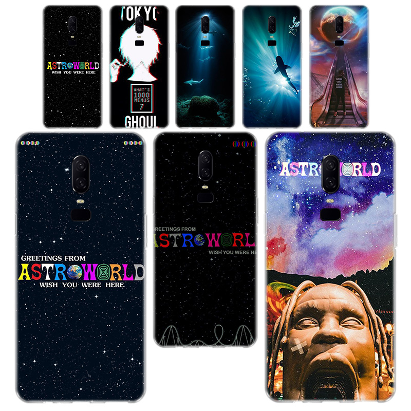 Travis Scott Astroworld Phone <font><b>Case</b></font> For <font><b>OnePlus</b></font> One Plus 7 Pro 5 5T <font><b>6T</b></font> 6 Soft Silicagel TPU Phone <font><b>Case</b></font> Cover image