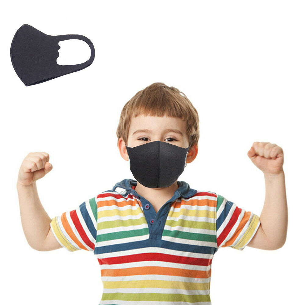 4-10 Years Child Kids face mask Breathable Prevent Pollution face mask Filtration Dust PM2.5 Mouth Muffle Bicycle Mask 1