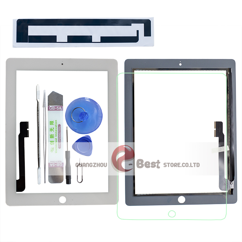 A1403 White Touch Screen Digitizer Assembly for Apple iPad 3 A1416 A1430