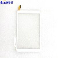 Nuevo panel táctil de pantalla táctil de 8 pulgadas XC-PG0800-125-FPC-A0 para niños tableta pc sensor táctil digitalizador de vidrio con pegamento
