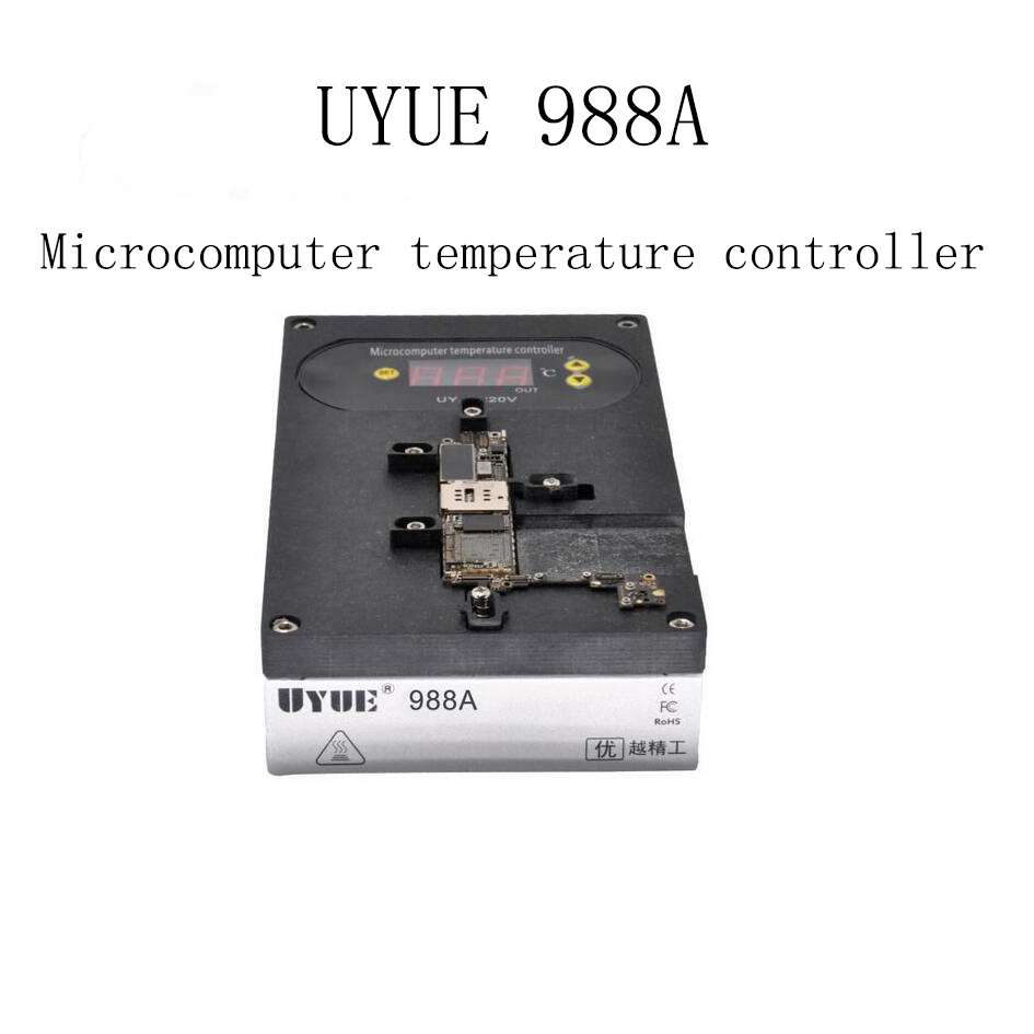 UYUE 988A High Accurate Heating Desoldering Rework Station for iPhone Motherboard CPU A8 A9 A10