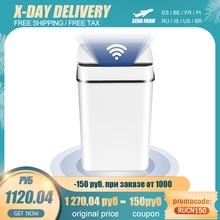 Smart Trash Can Home Intelligent Waste Bin Induction Garbage Bucket Electric Sensor Automatic Trash Bin For Kitchen Bathroom