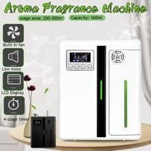 2 cores inteligente aroma fragrância máquina 160ml função temporizador unidade aroma difusor de aroma de óleo essencial para casa hotel escritório