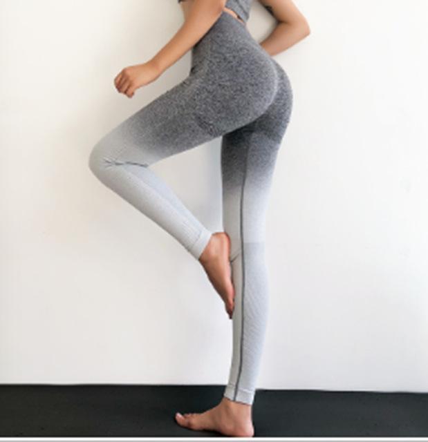 Anti-Cellulite Compression Energy Seamless Leggings Sport Women Fitness Yoga Pants High Waist Stretchy Gym Shark Slim Sport Wear