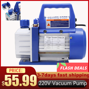 Vacuum Pump For Car High Pressure Pump Refrigeration Maintenance Automotive Industrial Vacuum Pumps Electric Single-stage Rotary