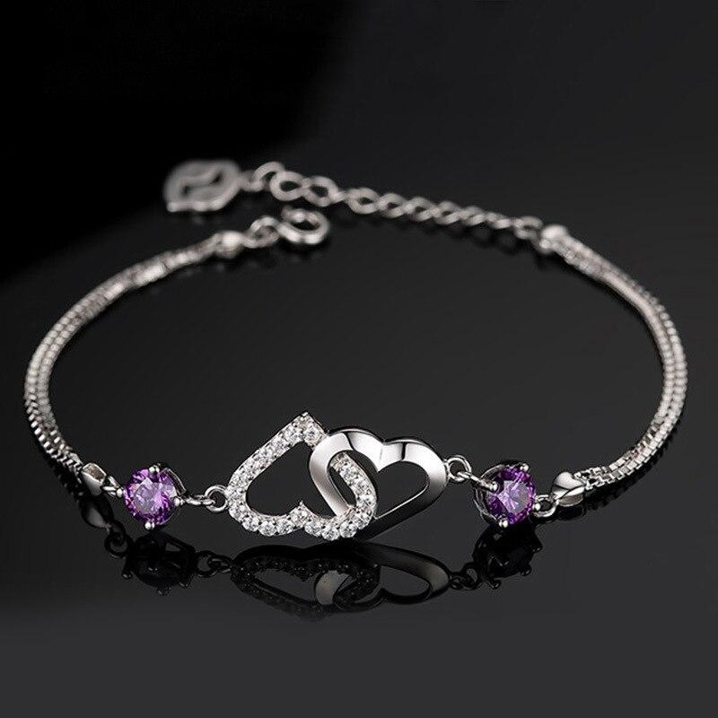 Double Heart Bracelet 3