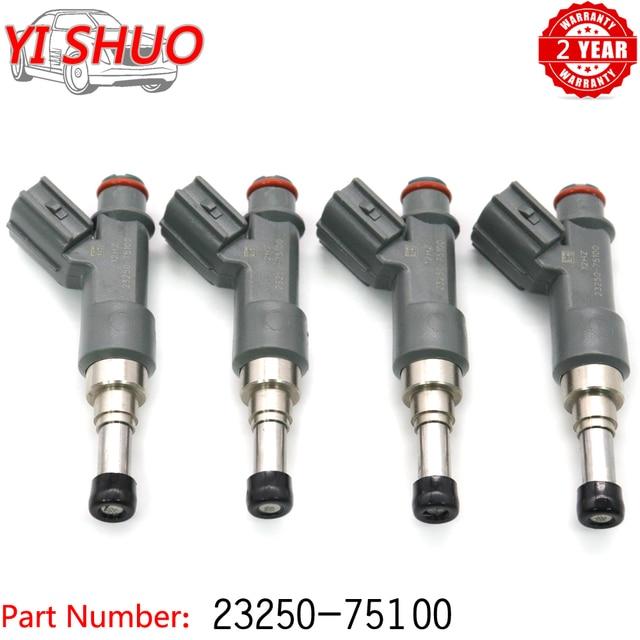 Car 23250 75100 23209 09045 Fuel Injectors Nozzle For Toyota 4Runner 10 12 Tacoma 05 14 2.7L Prado TRJ120 Hilux 23250 79155