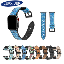 Lerxiuer TPU strap For apple watch band correa iwatch 44mm/40mm pulseira bracelet 4 watchband