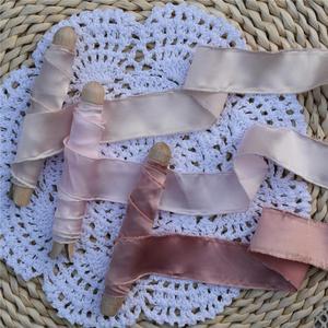 3 предмета в комплекте с бахромой краями подобный шелку сатин лента ручной работы с бахромой из шелковой ленты Свадебные Flatlay приглашение букеты подарочная упаковка Ленты для шитья      АлиЭкспресс