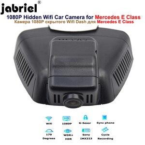 Image 5 - Jabriel 1080P נסתרת Wifi דאש מצלמה לרכב dvr עבור מרצדס בנץ E180 E200 E250 E260 E300 GLK260 GLK300 GLK350 w211 w212 w204