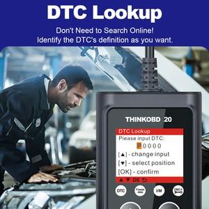 Image 4 - THINKCAR THINKOBD 20 Professional OBD2 Car Auto Diagnostic Tool OBD 2 Scanner automotivo Code Reader Check Engine Light