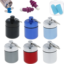 Multifunctional Mini Waterproof Aluminum Alloy Pill Box Case Cache Drug Holder Container Keychain Medicine Box Health Care