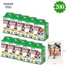 100 листов Fujifilm Instax Mini пленка Instax Mini 8 9 фильм Фотобумага для ЖК-дисплея с подсветкой Fujifilm Instax Mini 7 s/8/25/90/9 Instax Камера мини