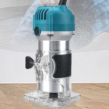 800W Router Electric Hand Trimmer Wood Router 1/4
