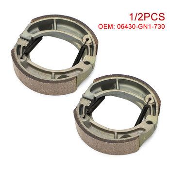 Front Rear Brake Disk Pads Shoes For Honda CR XL XR CL CT MT NX NXR MR TR CRF XR 75 80 100 125 150 175 185 200 230 250 350 600 R image