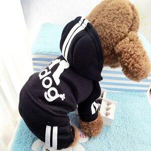 Image 4 - Vêtements dhiver pour chiens, veste chaude pour animaux de compagnie, manteau pour Chihuahua, pour petits et moyens chiots, tenue de Yorkshire, collection XS XXL