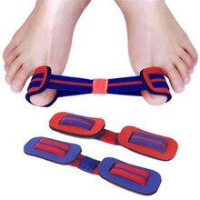 Hallux valgus cinto de treinamento banda polegar straightening exercitador dedo do pé grande valgus exercício banda cinto corretivo náilon elástico