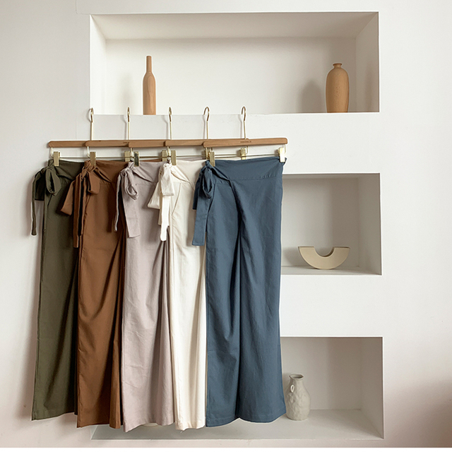 Women's Casual Bell Bottom Pants 5