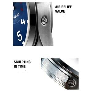 Image 5 - 2019 nuovi orologi da pilota automatici da uomo diametro 41.5mm vetro zaffiro 50m orologio da polso da uomo impermeabile in acciaio inossidabile di moda