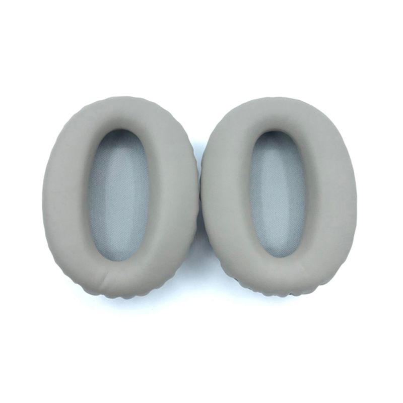 1 Pair Soft Protein Leather Earpads Replacement Ear Pads Ear Cushion For <font><b>SONY</b></font> <font><b>MDR</b></font>-<font><b>1000X</b></font> <font><b>MDR</b></font> <font><b>1000X</b></font> WH-1000XM2 <font><b>Headphones</b></font> image
