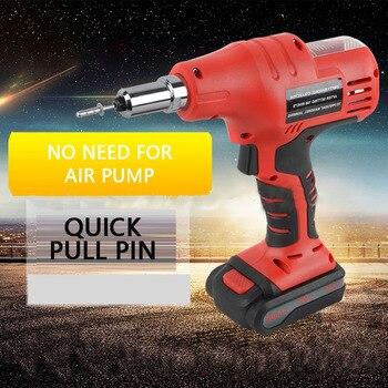 цена Hand Held Rechargeable Rivet Gun Pull Out Gun Aluminum Iron Stainless Steel Rivet Gun Solid Pull Rivet Gun онлайн в 2017 году