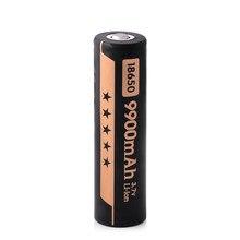 18650 akumulator litowo bateria litowo-jonowa 3.7V 9900mah bateria litowa do latarka latarka akumulator czarny