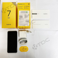 realme 7 5G 6.5''FHD+ Dimensity 800U 6GB 128GB 120Hz Display 48MP Camera 5000mAh 30W Dart Charge NFC Mobile Phone 2