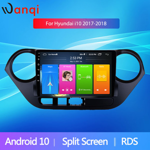 Android10 GPS 9inch Car Radio Stereo For 2013 2014-2018 Hyundai i10 Split Screen PIP RDS Muiltimedia Player Mirror Link no dvd