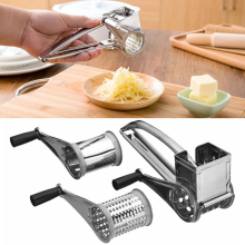 Silver Stainless Steel Cooking Baking Tool Kitchen Tools Cheese Graters Ginger Cutter Safety Creative Accessories