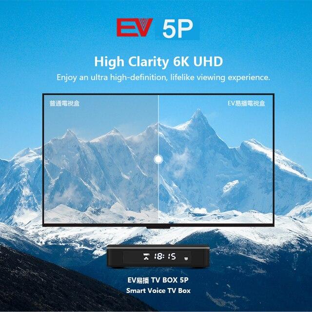 [Genuine]2021 ev pad 5p 5s pro evpad evbox 5p 5S android 10.0 6k 4+32G EVAI control for Korea Japan SG AU Canada Thai Ph europe 3