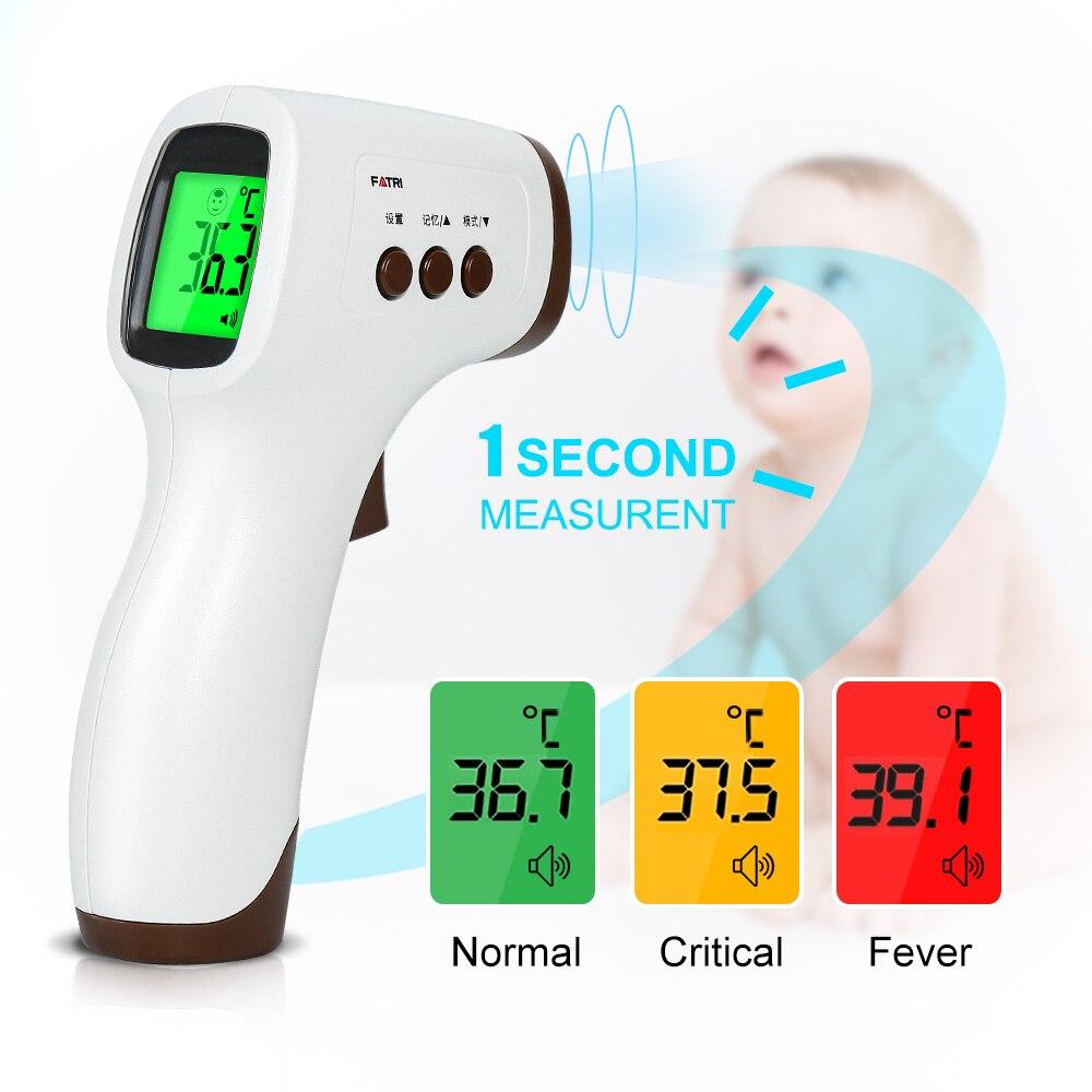 Цифровой инфракрасный термометр, Бесконтактный медицинский прибор для измерения температуры лба, для детей и взрослых, домашний прибор для...
