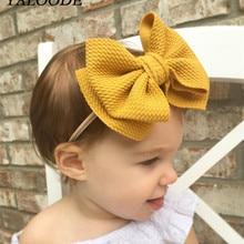 Girls Headbands Hair-Accessories Newborn-Baby Turban Knot Big Bow Rabbit for 0-2-Years