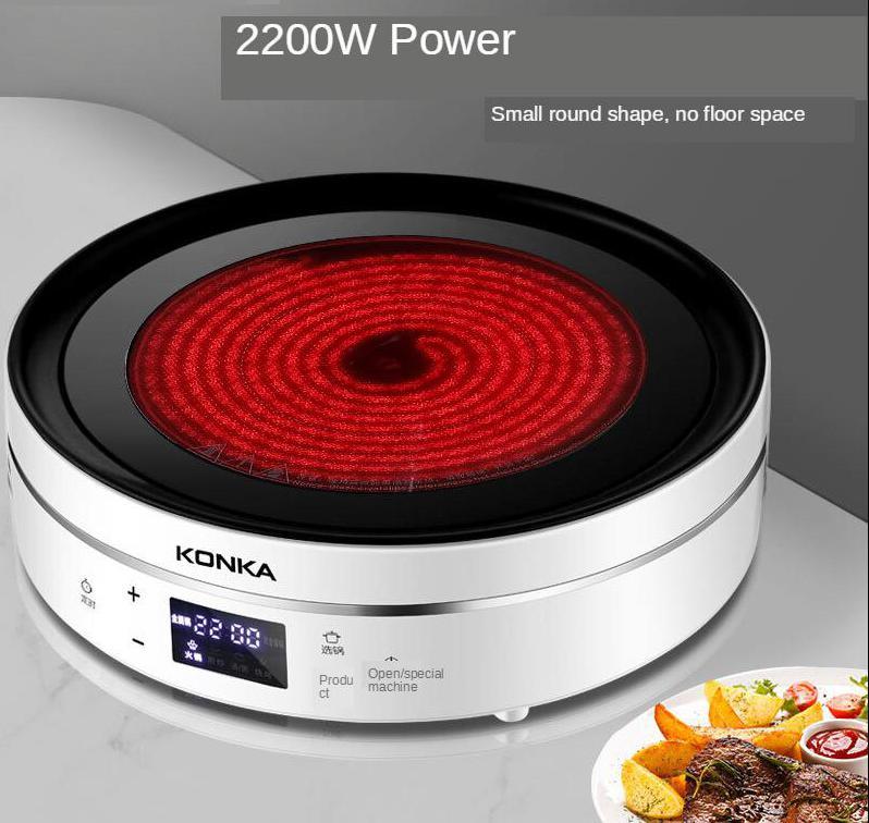 Электрическая керамическая печь, индукционная плита, бытовая чайная плита, мощная инфракрасная волна, мини печь 1674793 3