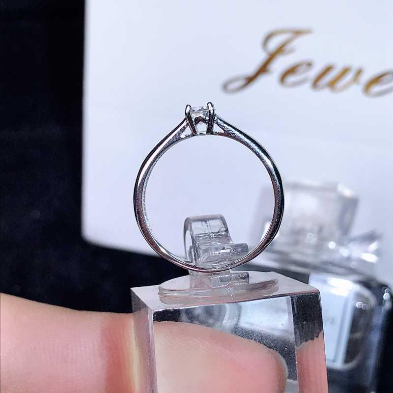 Moissanite, 0,3 karat Super heißer verkauf, vergleichbar mit diamanten, exquisite handwerkskunst