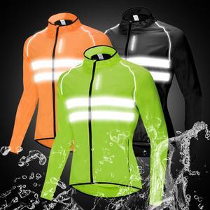 Image 2 - WOSAWE Cycling Jacket High Visibility MultiFunction Jersey Road MTB Bike Bicycle Windproof Quick Dry Rain Coat Windbreaker