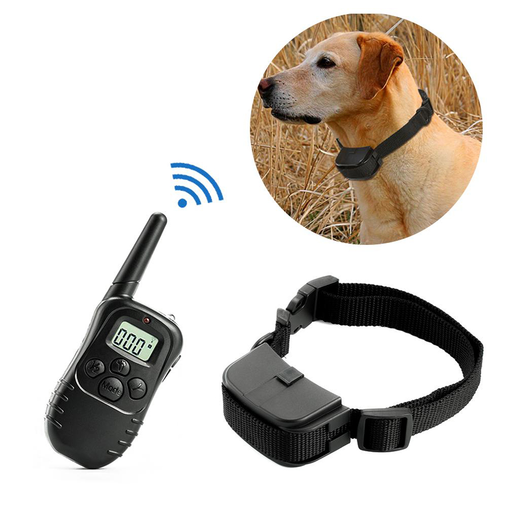 300 Electronic Dog Collar Remote Control Dog Collars With Static Shock,Vibration, Beep Modes LCD Electric Dog Shock Collar Training Collars     - AliExpress
