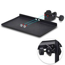 200X130 Mm Geluidskaart Lade Live uitzending Microfoon Rack Stand Telefoon Clip Houder