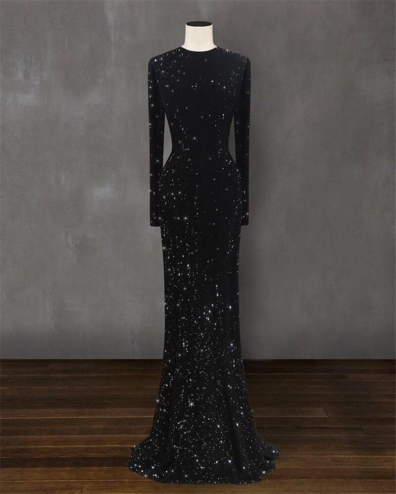 mermaid shiny mopping dress  2