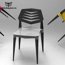 Nordic Plastic Stool Chair Restaurant Dining Chair Modern Office Meeting Dining Room Chairs Removable Portable Bedroom Chair plastic chairs discuss the chair training chair