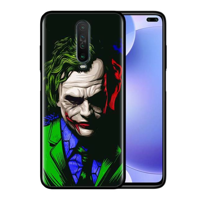 Cool Movie Joker Cover for Redmi 8 7 Note 9 9S 9 9A 9C 8T 8 7S 7 6 Pro 6 8A 7A 6A K20 K30 Pro Phone Shockproof Case