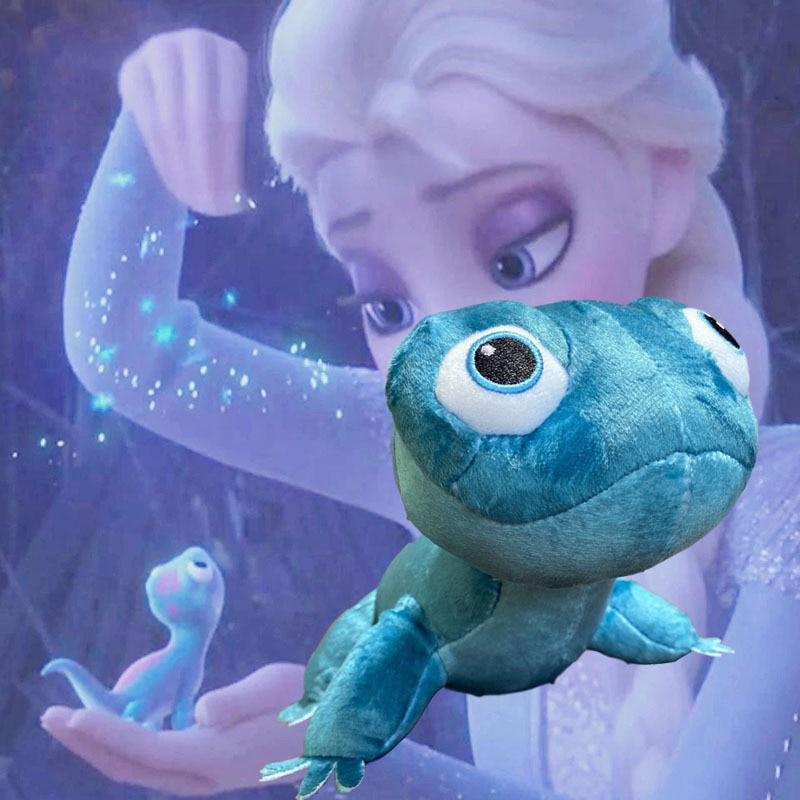 Frozen 2 NEW Fire Lizard Plush Doll 2 Fever Anna Elsa Princess Snowman Plush Doll For Children's Birthday