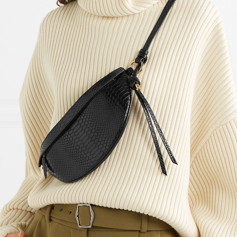 Serpentine Chest Bag Lady Fanny Packs Fashion Designer Chest Handbag Women's Bag Luxury Waist Pack Belly Bags Purse