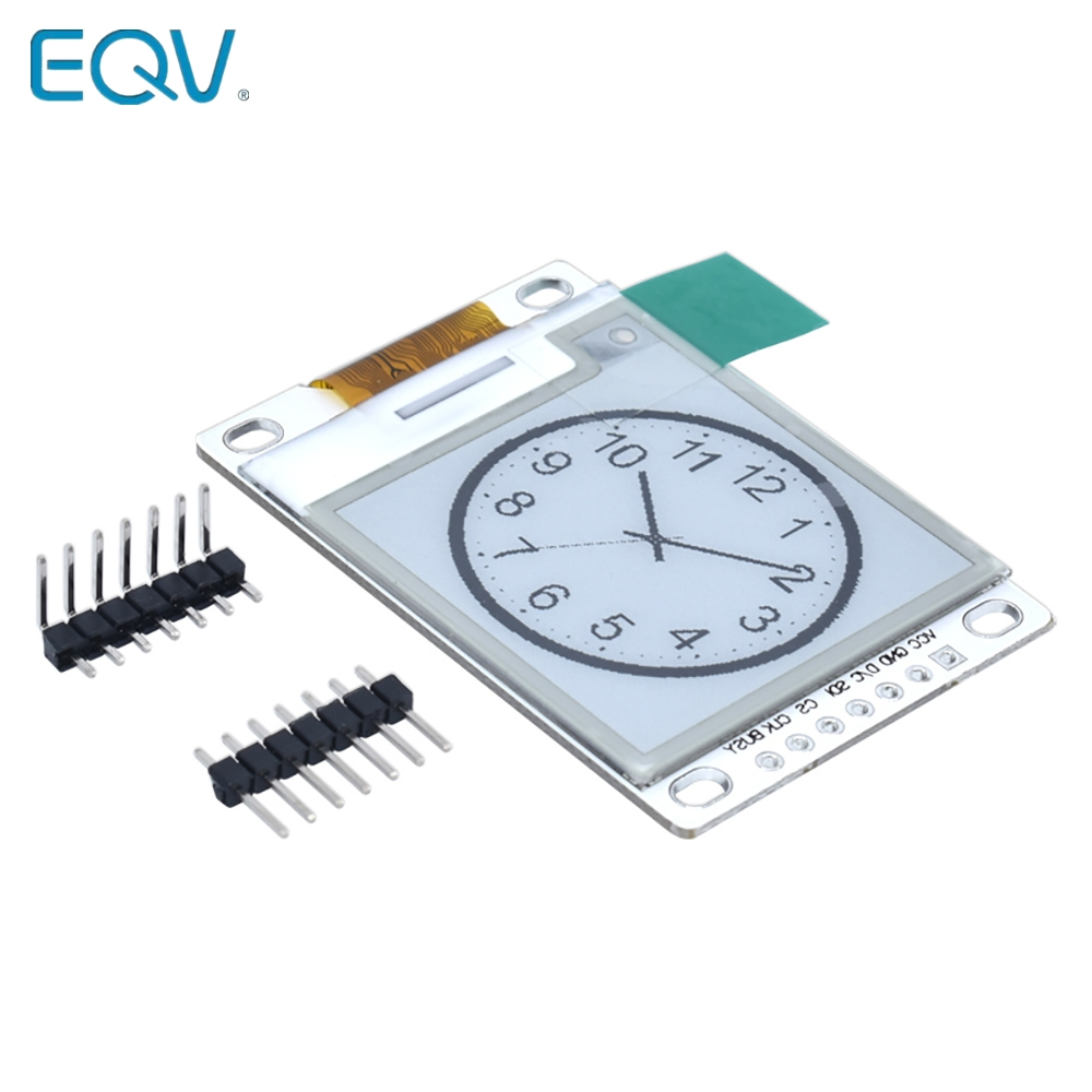 1.54 Inch E-Paper Module E-Ink Display Screen Module Black White Color SPI Support Global/Part refresh