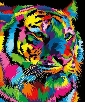DIY 5D Diamond Painting Animal Lion Cat Cross Stitch Kit Full Drill Embroidery Mosaic Art Picture of Rhinestones Home Decor Gift 10