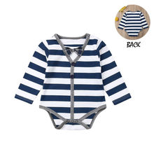 2018 Brand New Toddler Newborn Baby Boy Girl Warm Infant Romper Striped Jumpsuit Hooded Clothes Long Sleeve Outfit brand new newborn toddler infant baby girl boy 100