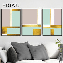 Nordic Minimalist Abstract Decoration Canvas Painting Home Wall Printing Posters for Living Room DJ486