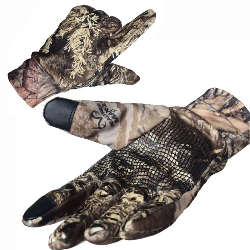 Тактические перчатки для сенсорного экрана военные армейские полнопальцевые камуфляжные уличные эластичные перчатки для стрельбы пейнтб...